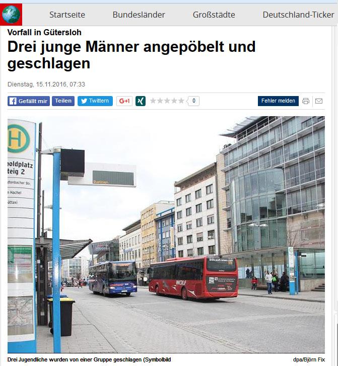 Ein Symbolbild zeigt den Pforzheimer Leopoldplatz mit zwei Bussen